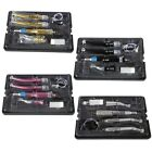 Dental High Low Speed Handpiece Kits 4Holes Contra Angle Air Motor 4colors HPm-X