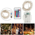 5m 50pcs 5028 LEDS RGB Multiple Color Changing String Light Lamp with 24 Key Rem
