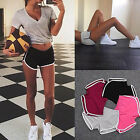 S~2XL Plus WomenS Girls SportS YOGA Gym Running Shorts Casual Jogging Pants COMF