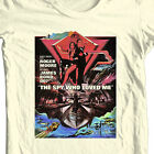 James Bond T-shirt 007 The Spy Who Loved Me retro vintage 70's Roger Moore tee $19.99 USD