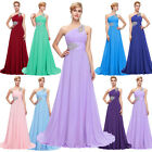 Long Maxi Chiffon Prom Gowns Party Evening Formal Cocktail Bridesmaid Dress LOT