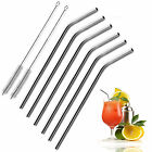 cheap Stainless Steel Bend Drinking Straws for Fit 20oz/ 30oz Yeti Tumbler Rtic