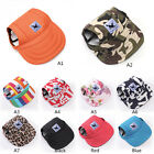 BG Fashion Pet Dog Baseball Hat Canvas Cap Small Dog Outdoor Accessories Summer