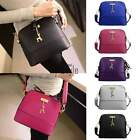 Fashion Women Leather Shoulder Handbag Messenger Bags Casual Tote Bag Purse UT