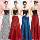 Ever Pretty Elegant Satin Printed Long Evening Party Formal Gown 09727