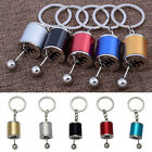 Metal Alloy 6-Speed Gearshift Shift Gearbox Key Ring Keyring Keychain Gifts 1Pc