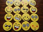 Smiley/Happy/Emoji Erasers Party Bags/Favours/Pinata Fillers 4,6,8,10,12