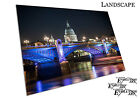 St Paul's Cathedral London bridge Illuminations river Thames - Media Choice