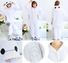 Big Hero 6 Cute Baymax Onesie1 Kigurumi Pajamas Anime Cosplay Costume Sleepwear