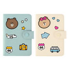 Line Friends Mini Passport Case Travel Card Cash Ticket Cute Holder Wallet