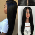8A Pre Plucked Silk Top 360 Full Lace Frontal Wig Brazilian Virign Human Hair X9