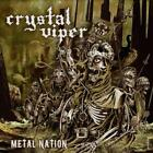 CRYSTAL VIPER - METAL NATION USED - VERY GOOD CD