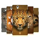 HEAD CASE DESIGNS ANIMAL FACES 2 HARD BACK CASE FOR SONY PHONES 3