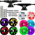 Внешний вид - Tensor Black Slider Trucks Bones SKATEBOARD 100's Wheels PACKAGE Abec 9 Bearings