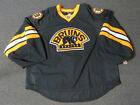 New Boston Bruins Third Authentic Team Issued Reebok Edge 20 Hockey Jersey