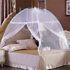 High QC Luxury Bedding Canopy Mosquito Net Netting Tent Dome Single Double Size