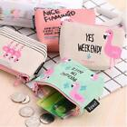 Cute Cosmetic Makeup Bag Purse Toiletry Bag Flamingo Organizer Coin Pouch New W