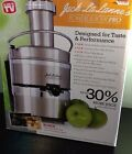 New Jack LaLanne's Stainless Steel Power Juicer Pro NEW IN BOX