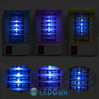 2pcs Indoor LED Electric Mosquito Fly Bug Insect Trap Zapper Killer Night Lamp