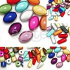 Acrylique Miracle 3D Illusion Perles Beads Cylindre/Larme/Ovale/Capsule Bijoux
