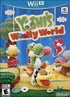 WII U YOSHI'S WOOLLY WORLD BRAND NEW VIDEO GAME