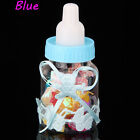 12PCS Fillable Bottles for Baby Shower Birthday Party Decorations Candy Bear Box