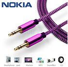 3.5mm AUX Pink Headphone Jack HQ Cable Audio Lead For Nokia 6