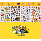 Kakao Friends Action Clear Sticker for Diary Planner Cute Decor Calendar Point