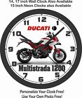2013 DUCATI 1200 MULTISTRADA MOTORCYCLE WALL CLOCK-FREE USA SHIP, BMW, TRIUMPH $41.99 USD on eBay