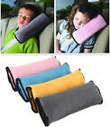 Kids Outdoor Travel Car Cushion Pillow Safety Seat Belt Harness Head Rest Pad