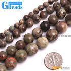 Natural Kambaba Agate Gemstone Round Beads For Jewelry Making Free Shipping 15""