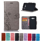 Leather Wallet Case For Samsung Galaxy Series Back Cover Card Holder Kickstand