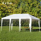 3 x 3 m Gazebo Shade Waterproof Party Wedding Garden Awning Canopy Marquee Tent