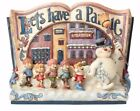 Jim Shore Frosty the Snowman Let's Have a Parade Storybook Figurine 4058190 New