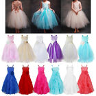 Formal Girls Flower Baby Dress party Princess Wedding Bridesmaid Pageant Dresses