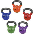 UFE Vinyl Powder Coated Cast Iron Kettlebell For Strength / Endurance rrp£22-£45