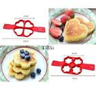 Silicone Fried Egg Pancake Mold Heart/Flower/Round/Square Breakfast TXWD