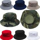 Women Men Boonie Bucket Hat Cap Fishing Camping Hunting Safari Summer Outdoor