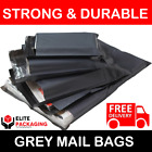 All Sizes 60mu Mailing Bags Postal Postage Post Mail Strong Poly Self Seal Cheap