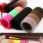 400PCS Lot Elastic Women Girl Hair Band Ties Rope Ring Hairband Ponytail Holder