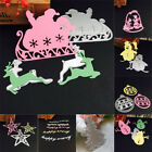 Merry ChrisMerry Christmas Metal Cutting Dies Stencils Scrapbooking Embossing