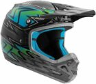 NEW ANSWER RACING AR-3 HAZE GRAY BLUE RACE MX MOTOCROSS HELMET MENS ADULT