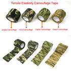 Outdoor Camo CS Game Sports Camping Camouflage Stealth Tape Tool 5cm*4.5m 1Roll