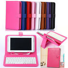 "Universal Table USB Keyboard+Cover Case for Ipad Samsung LG Tab 7"" 8"" 9"" 10inch"