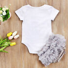 Infant Baby Girls Clothes Newborn Lovely Romper Tops Tutu Skirts Bottoms Pretty