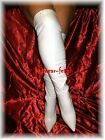 thigh boots white