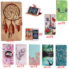 Leather Wallet Pictorial Case For Huawei P8 Lite Stand Card Slot Shockproof New