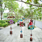 H&D Metal Hanging Birdcage Bell Wind Chime Outdoor Yard Garden Decoration Gift