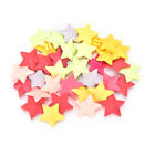 1 2 bag Bicycle Wheel Plastic Spoke Bead Children Clip Colored Stars Beads TO