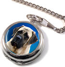 English Mastiff Full Hunter Pocket Watch (Optional Engraving)